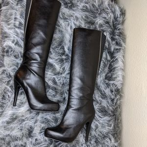 Aldo Leather Knee High Boots